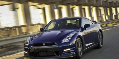 The 2013 Nissan GT-R Black Edition is more refined than the first-generation GT-R.