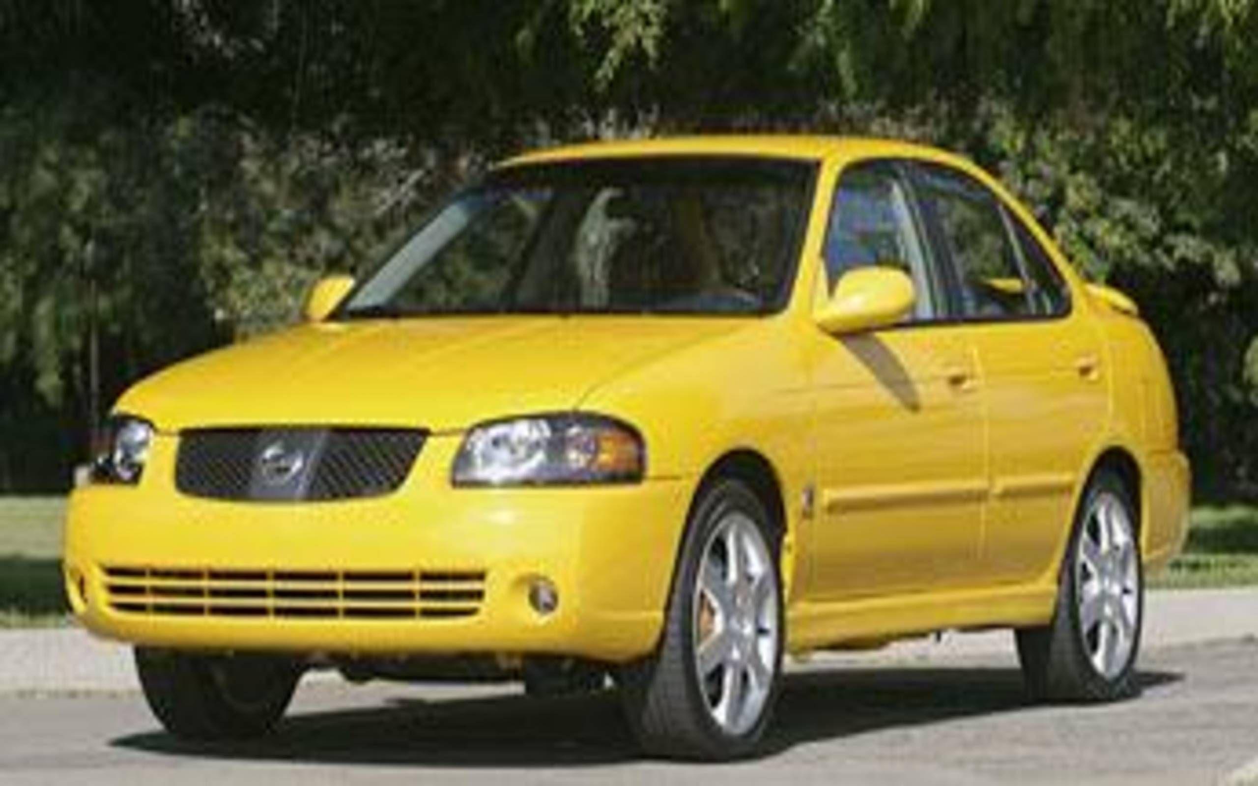 2004 Nissan Sentra Se R Spec V