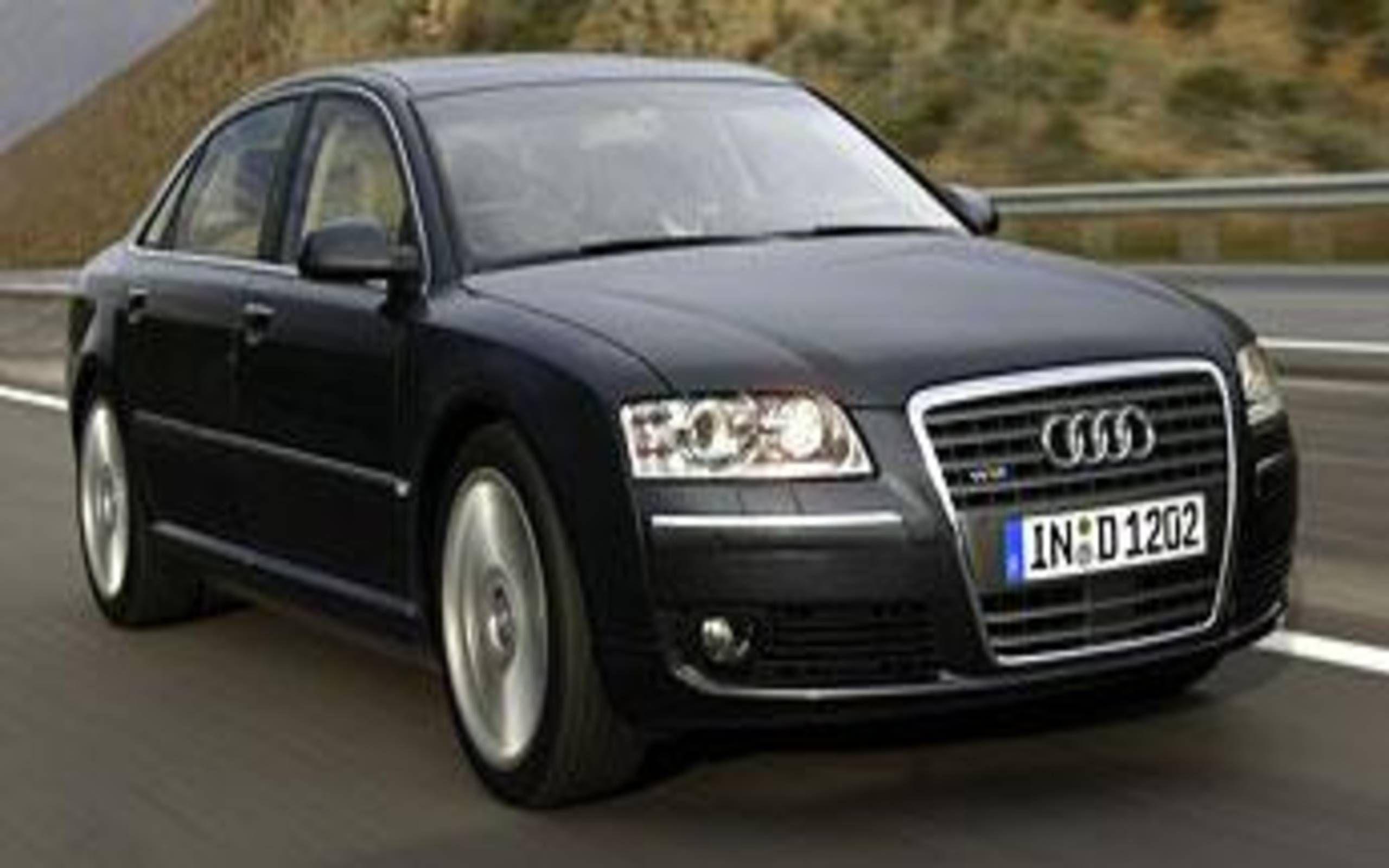 Kekurangan Audi A8 2005 Review