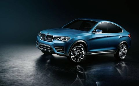 With the BMW Concept X4, the BMW Group offers a preview of the future of the BMW X family.