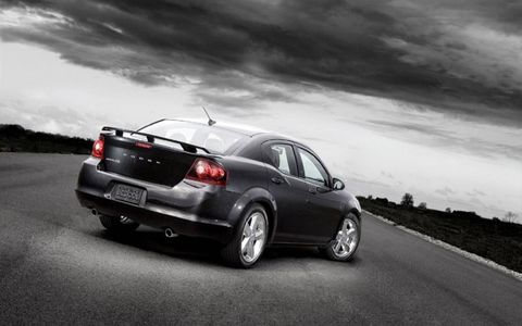 2011 Dodge Avenger Heat