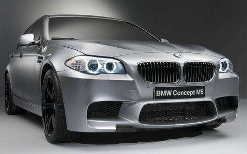 The BMW M5 Concept