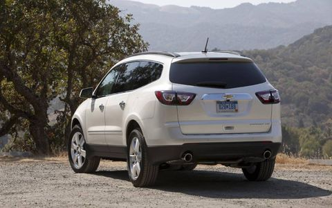 Slight modifications to the 2013 Chevrolet Traverse are what give it a competitive edge.