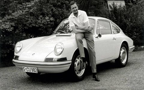 Butzi Porsche will be remembered for designing the Porsche 911.