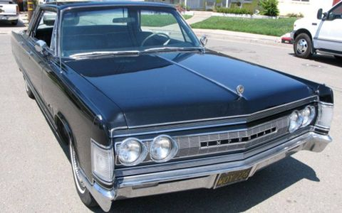 This 1967 Chrysler Imperial is restored and for sale through our friends at BringaTrailer.com