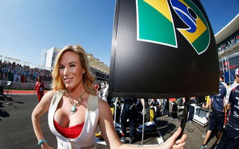The grid girls at Circuit of the Americas played an important role in the success of Formula One's trip to Austin -- or did they?