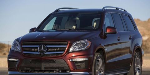 The 2013 Mercedes-Benz GL63 AMG is a luxury machine inside and out.