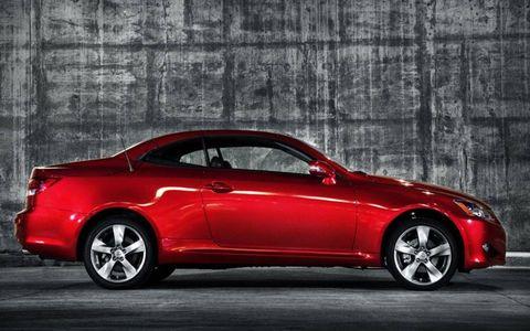 Driver's Log Gallery: 2010 Lexus IS 250C