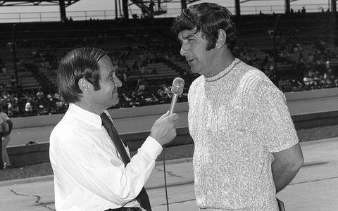 Jim McKay and Joe Leonard