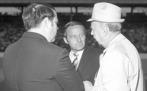 Jim McKay and Al Bloemker