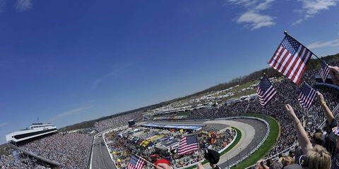 Martinsville Speedway. Photo by: LAT South