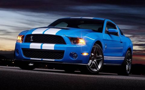 2010 Shelby Mustang GT500