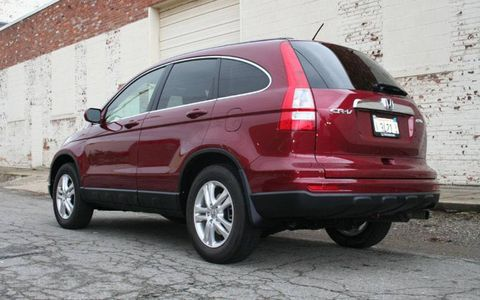 Driver's Log Gallery: 2010 Honda CR-V