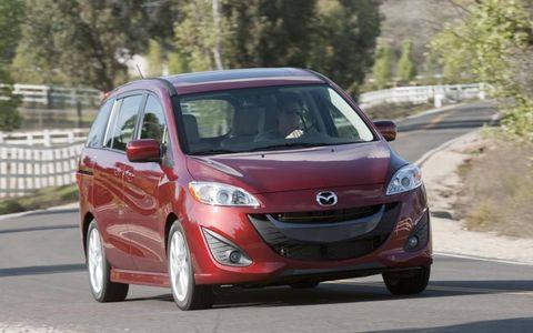 The 2012 Mazda 5 Grand Touring