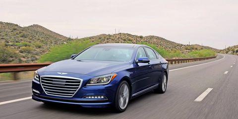 The 2015 Hyundai Genesis 5.0 Sedan is a capable, powerful luxury sedan.