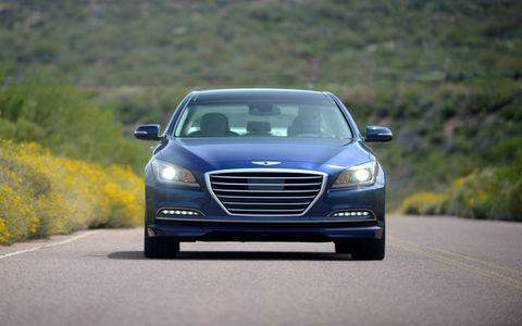 The 2015 Hyundai Genesis 5.0 Sedan is a terrific midsize luxury sedan.