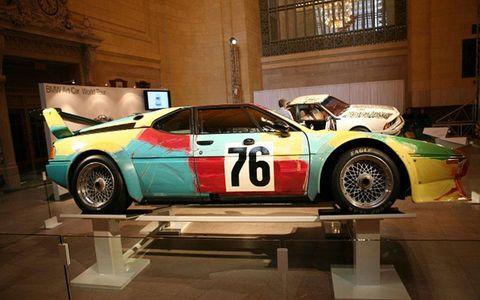 Andy Warhol's BMW M1 Art Car