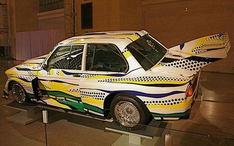 Roy Lichtenstein's BMW 320i Art Car