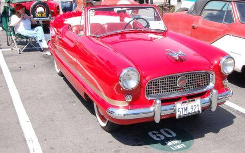 The Nash Metropolitan is a favorite of the Unique Little Car Show.