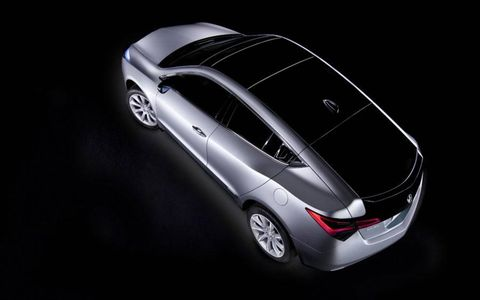 The ZDX prototype has an all-glass roof panel and glass hatch.