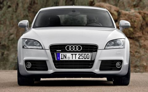 The car launches in the first quarter of 2011, and the six-speed S-tronic automatic is standard.
