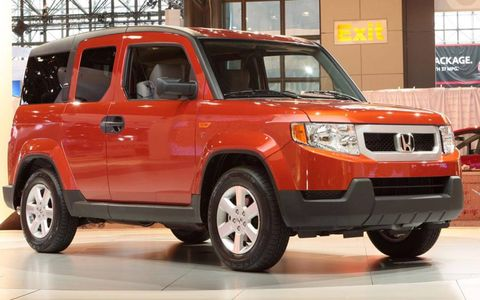 The Honda Dog Friendly Element will go on sale this fall.