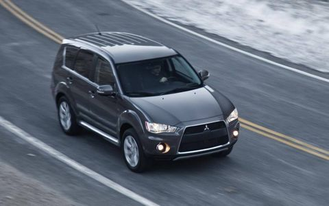 The 2011 Mitsubishi Outlander GT S-AWC