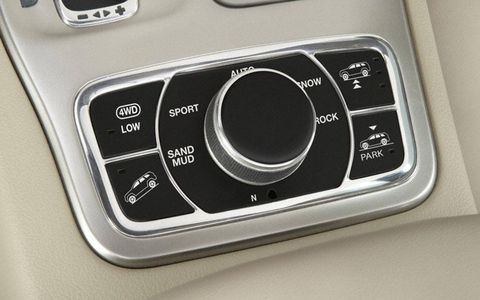 The Select Terrain system lets the Grand Cherokee tackle almost any road condition.