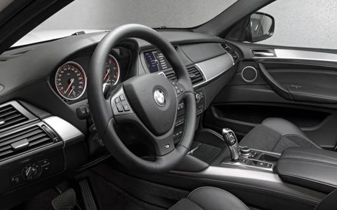 The 2013 BMW X6 xDrive35i with the added premium package features keyless entry, four-zone climate control and an in-dash navigation system.