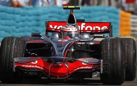 Heikki Kovalainen, McLaren MP4-23 Mercedes, 1st position.