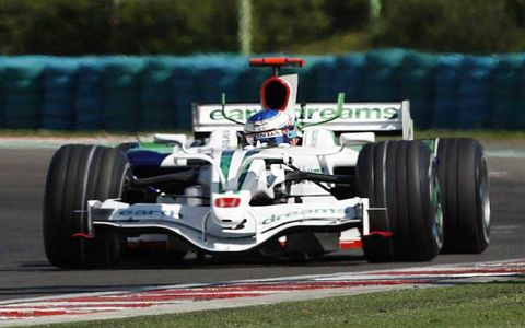 Jenson Button, Honda RA108, 12th position.