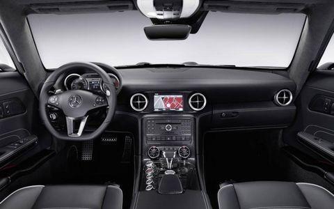 The Mercedes-Benz SLS AMG