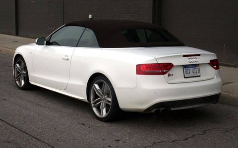 Driver's Log Gallery: 2010 Audi S5 Cabriolet