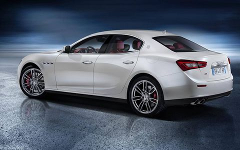 The Maserati Ghibli
