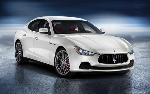 The Maserati Ghibli will offer the company's first diesel. It's unclear if that engine will come to America.