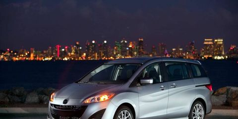 The 2012 Mazda 5 comes trim levels sport, touring and grand touring.