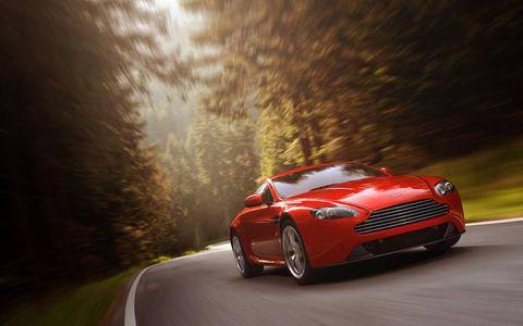 The 2012 Aston Martin V8 Vantage Coupe starts at $118,370