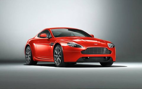 Both the V8 Vantage Coupe and Roadster receive quicker steering and wider tires for 2012