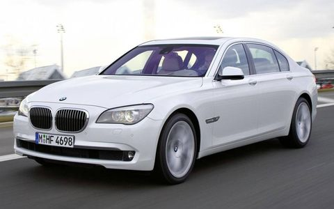 A twin-turbo 6.0-liter V12 is the heart of the BMW 760i.