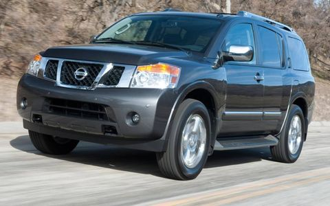 The 2012 Nissan Armada is powerful and fuel thirsty.