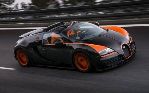 Bugatti Grand Sport Vitesse WRC (World Record Car)