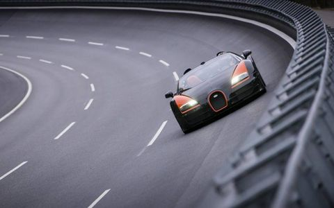 The record was broken at Ehra-Lessien, VW's test track in Germany.