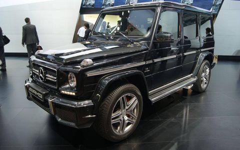 The 2013 Mercedes-Benz G-Class at the Beijing motor show.