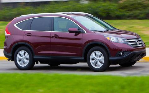 The Honda CR-V was redesigned for the 2012 model year.