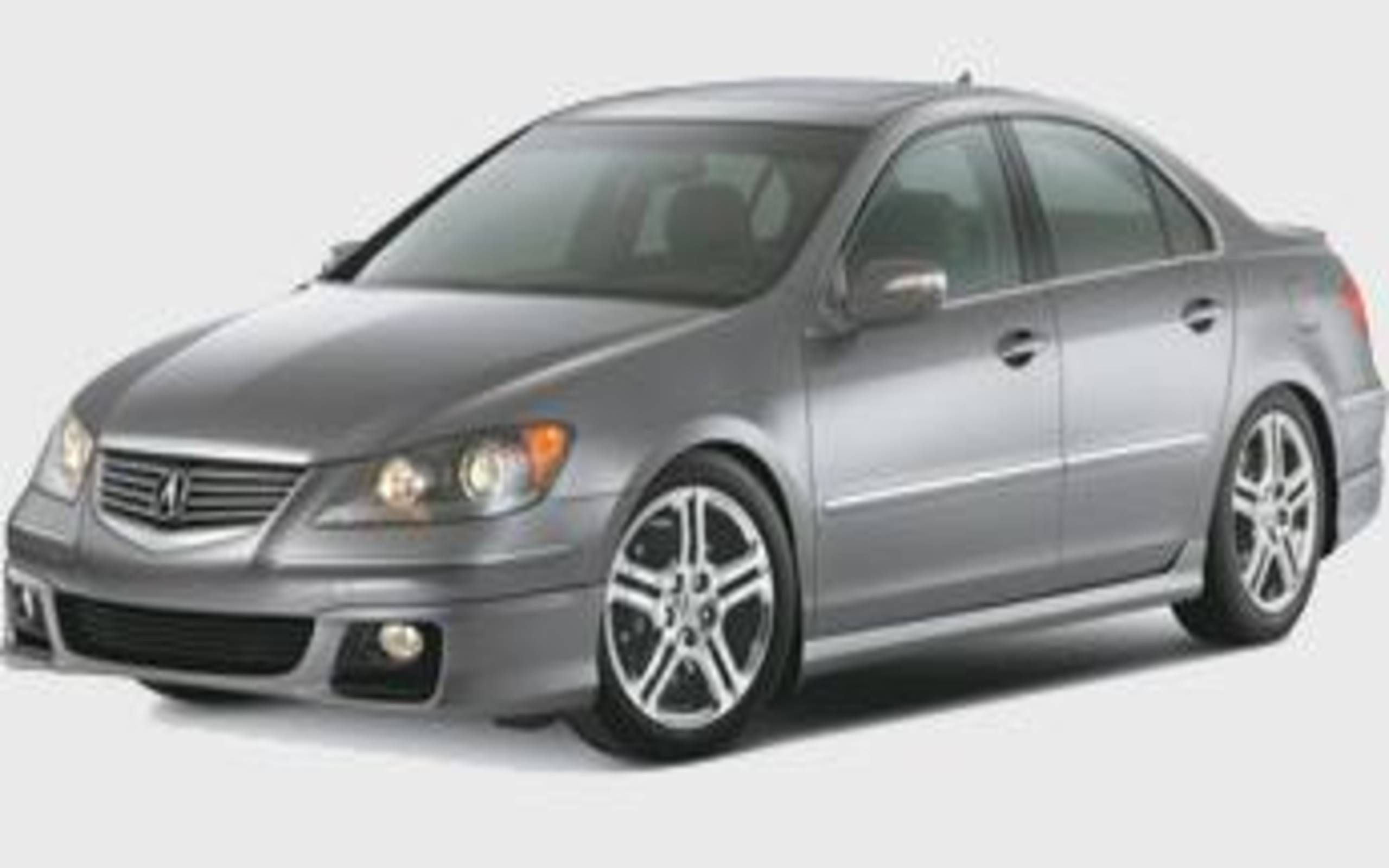 Acura Rl A Spec Acura Rl Gets The A Spec Treatment But Is It Enough