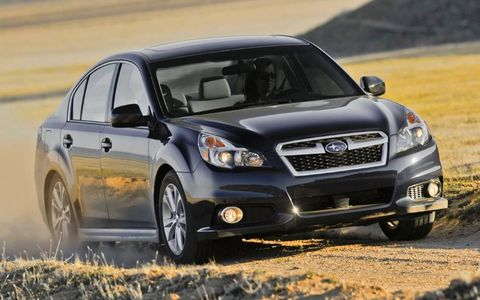 The 2013 Subaru Limited 3.6R comes in at a base price of $29,665.