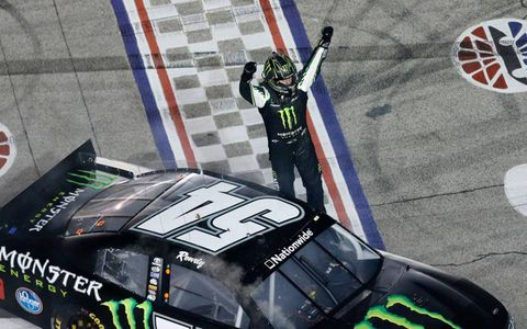 Kyle Busch made it four wins in six races with his Nationwide Series win at Texas on Friday night.