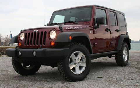 Driver's Log Gallery: 2010 Jeep Wrangler Rubicon
