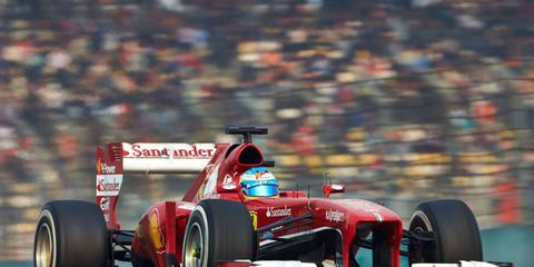 Fernando Alonso won the Chinese Grand Prix by 10 seconds over Kimi Raikkonen on Sunday.