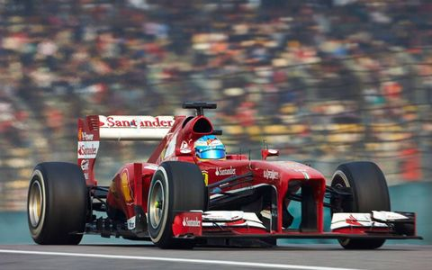 Fernando Alonso won the Chinese Grand Prix by 10 seconds over Kimi Raikkonen on Sunday.
